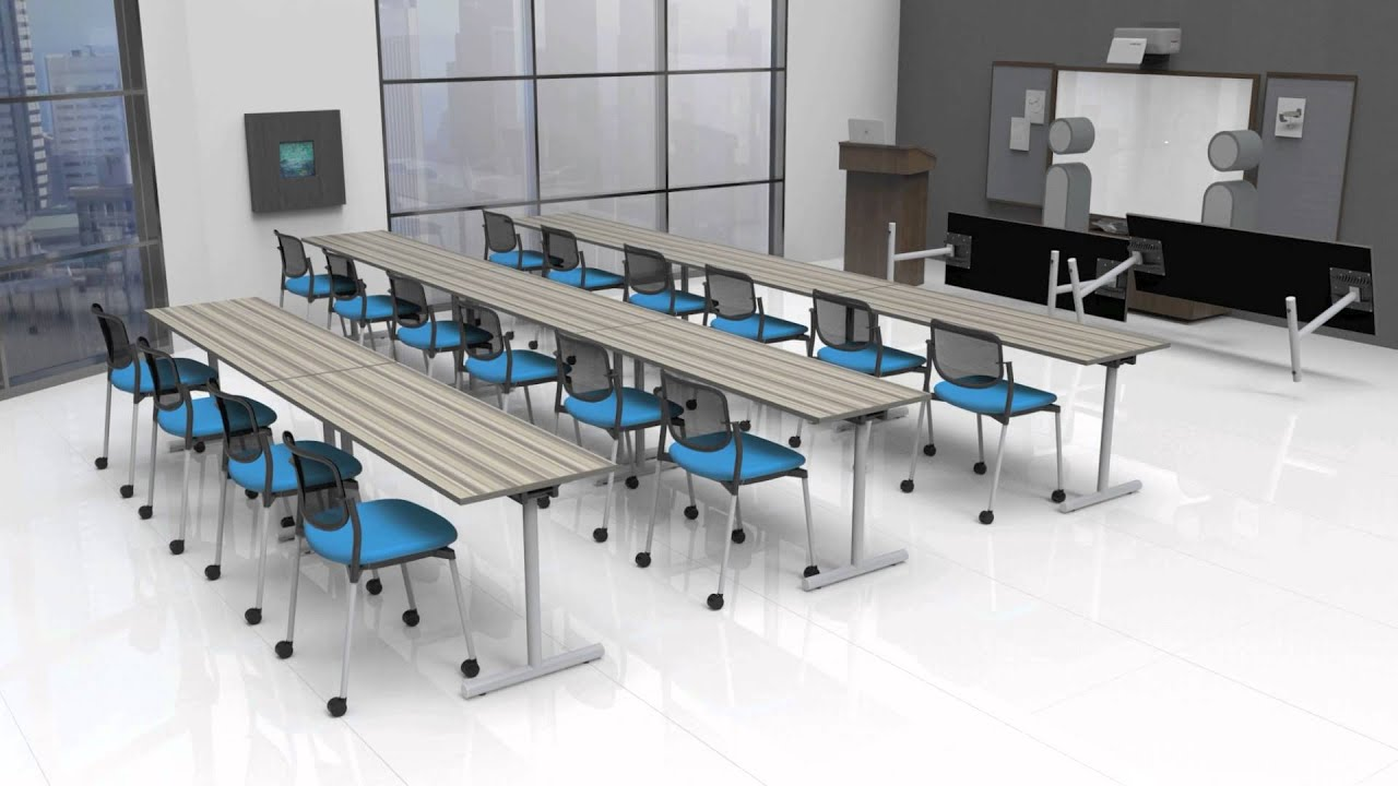 PS Furniture Training Room - YouTube