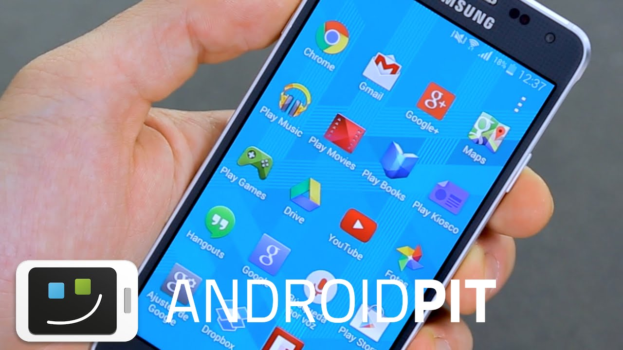 Samsung Galaxy Alpha - Análisis completo en español