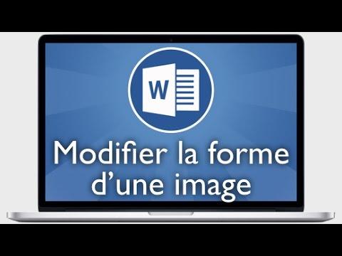 Tutoriel Word 2013 Decouper Une Image Selon Une Forme Youtube