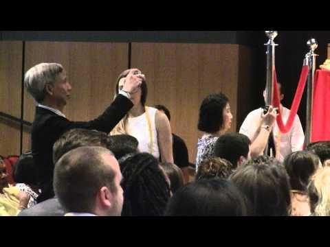 Julia Kastner Temple University Honors Convocation
