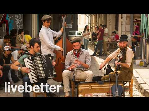 Mix - Modern jazz gypsy music to listen and dance instrumental mix romanian hungarian happy music
