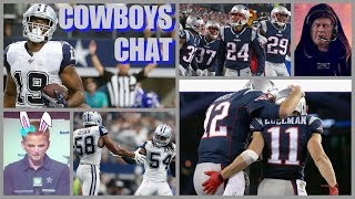 COWBOYS CHAT: Match-Ups To Watch vs New England; LVE Ruled OUT! Injury List; Dak's #'s; Team SPEAKS!