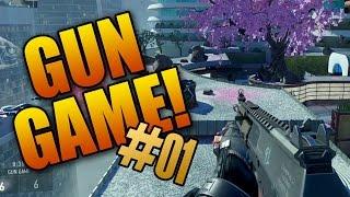 Advanced Warfare Gun Game LIVE #1! (Call of Duty AW Multiplayer Gameplay)