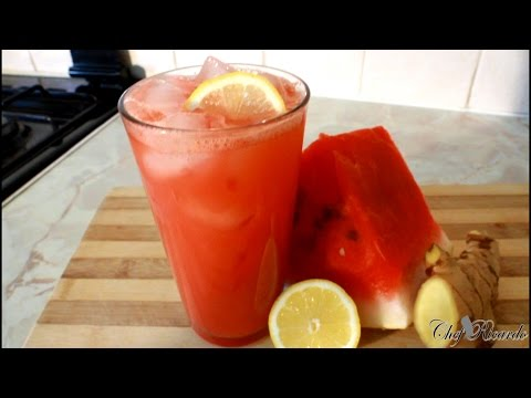 Healthy Watermelon Juice (Weight Loss ) | Recipes By Chef Ricardo