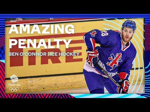 Ben O'Connor scores unbelievable Ice Hockey penalty shot