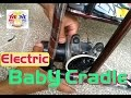 How made baby electric cradle with 12 volt wiper motor baby jola swing