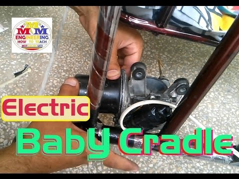 How made baby electric cradle with 12 volt wiper motor baby swing