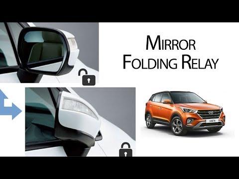 #Carplus #Creta | KMH Mirror Folding Relay Installation | Best Quality Only at carplus.in