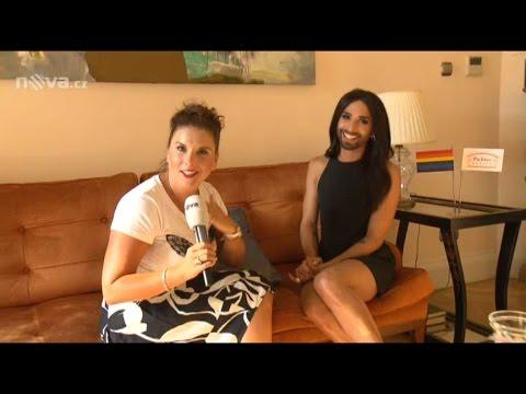 Interview with Conchita in Prague, Czech Republic 10.08.2015
