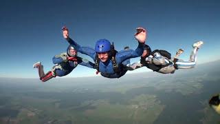 Прыжки с парашютом в Киеве. Тандем и обучение программа AFF