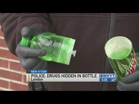 Police find drugs hidden in fake Mountain Dew bottle