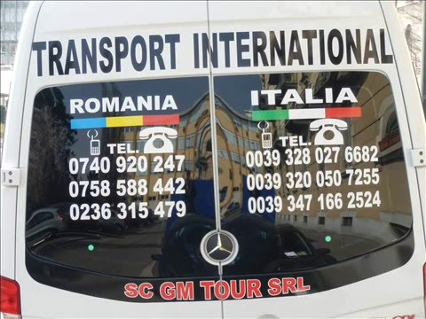 Transport Persoane International Romania Italia