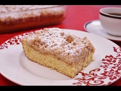 Coffee Cake Recipe: From Scratch: Mom's Easy Coffee Cake -Diane Kometa - Dishin With Di #116