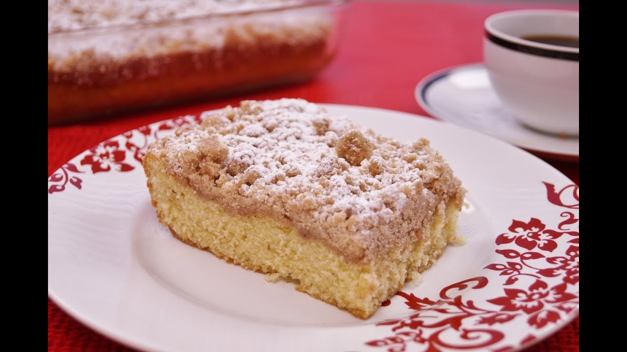 Crumb coffee cake recipe easy
