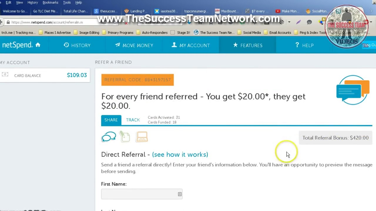 How to get free money on netspend
