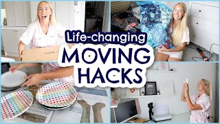 MOVING HOUSE HACKS!  PACKING HACKS & TIPS FOR MOVING  |  Emily Norris
