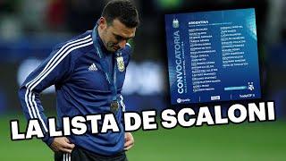 Lionel Scaloni dio la lista final de la Selección Argentina 💪🙌