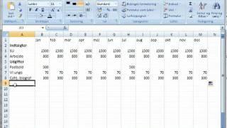 Excel   09  et budget på 5 min