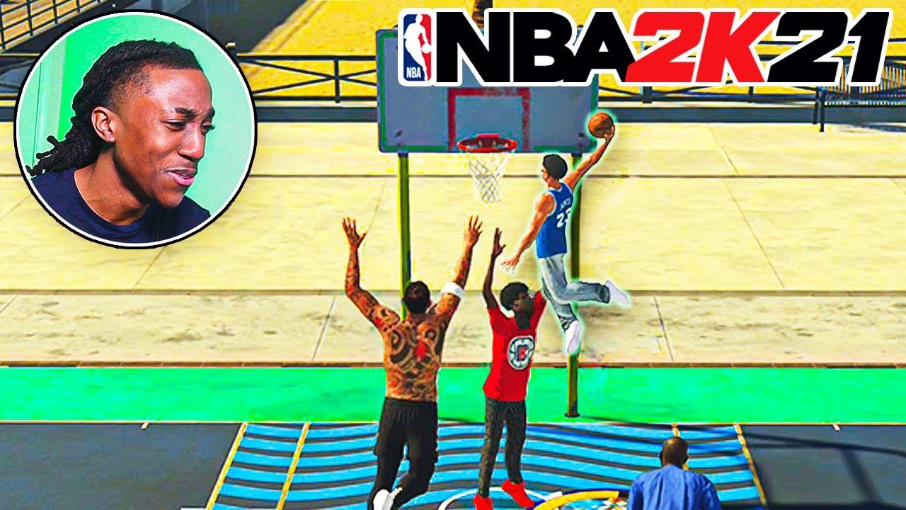 I MADE A 5'9 PURE SLASHER & BROKE NBA 2k21..