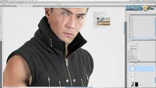 Photoshop Tutorial - Chrome Eye