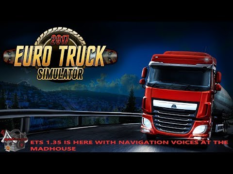 EURO TRUCK SIM ONLINE WITH THE MADHOUSE ON PC