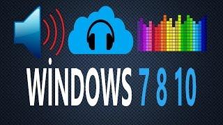 Windows Ses Sorunu ve Çözümü (Windows 7 8 10 )