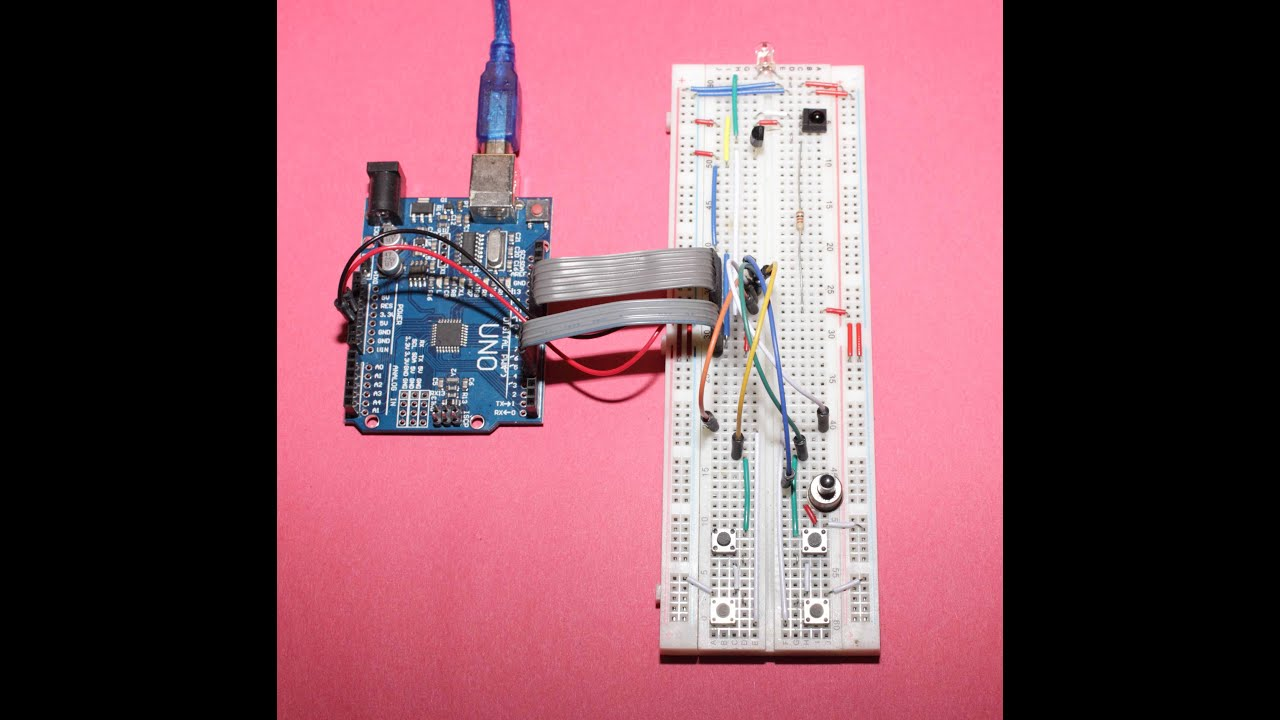 Arduino How To Build Your Own Universal Ir Remote Control Youtube Infrared Transmitter Circuit Remotecontrolcircuit