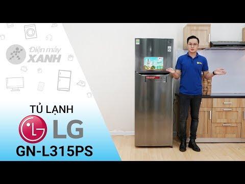 Tủ lạnh LG Inverter 315 lít GN-L315PS tiết kiệm điện hơn nhờ Linear inverter • Điện máy XANH