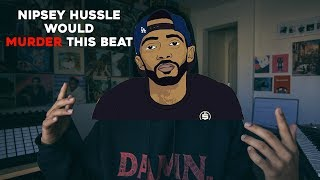 this beat is SILKY SMOOTH   For Nipsey Hussle's Victory Lap