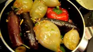 Dolma Recipe Iraqi Assyrian Mixed Stuffed Vegetables Part 3/4