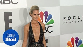 Lady Victoria Hervey wears plunging gown to Golden Globes party - Daily Mail