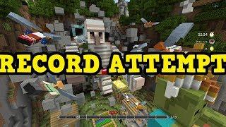 Minecraft GLIDE WORLD RECORD ATTEMPT