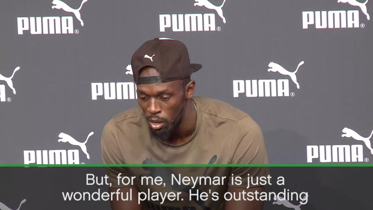 Neymar is one of the greats - Bolt  43ecd0e24baf