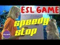 Linguish ESL Games // Speedy Stop // LT28