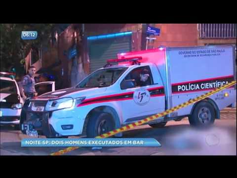 Dois homens são executados em bar na zona norte de São Paulo