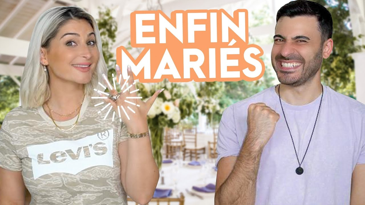 ENFIN MARIÉS ! 🤩