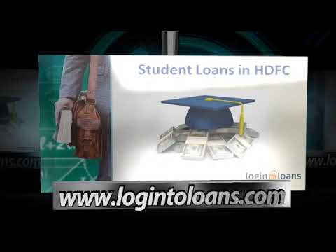 HDFC Bank  Education Loans in India, HDFC Bank  Education Loans Interest Rates -  Logintoloans