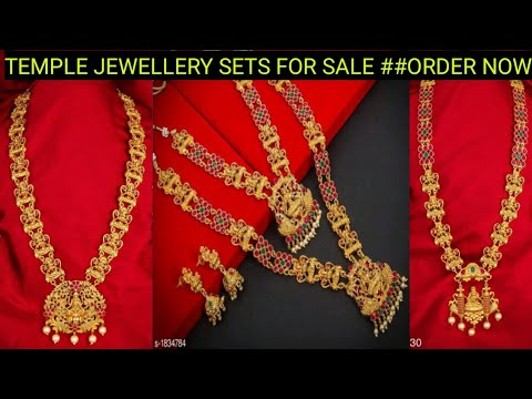 Prices less then Amazon and Flipkart # Temple Jewellery Designs 2020 with price /SALE//ORDER NOW/