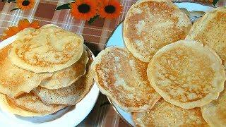 Вкусные Блинчики С Яблочной Начинкой /  Delicious Pancakes With Apple Filling / Easy Recipe