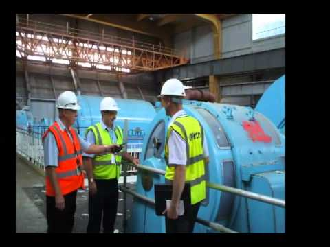Bradwell Power Station Turbine Hall Demolition
