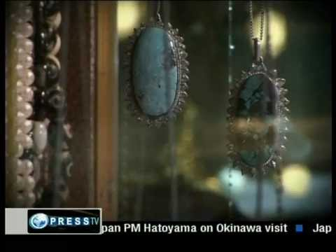 Firoza - Turquoise Mines of Nishapur, Mashad, Iran - Press TV Documentary