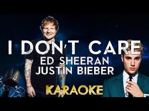 Ed Sheeran & Justin Bieber – I Don't Care Karaoke Instrumental