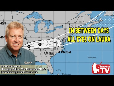 August 27, 2020 New Jersey/Delaware Bay Fishing Report With Jim Hutchinson, Jr.