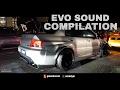 MITSUBISHI EVO EXHAUST SOUND COMPILATION - XO AutoSport Street Style in Malaysia