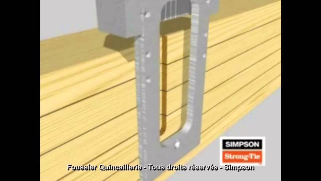 simpson etrier a queue d 39 aronde etb youtube. Black Bedroom Furniture Sets. Home Design Ideas