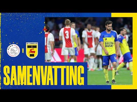 Samenvatting Ajax - SC Cambuur (9-0)