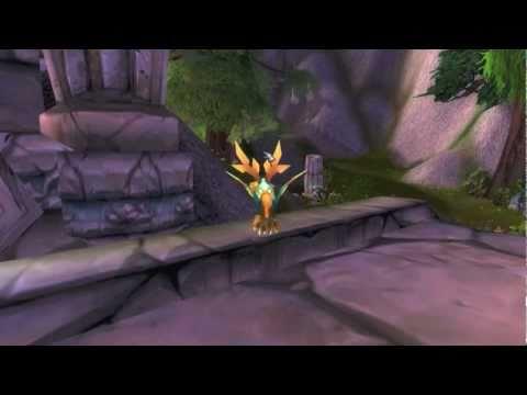 World of Warcraft - Cenarion Hatchling Japan Relief Vanity Pet