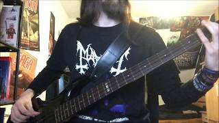 Bass Cover - Asphyx - We Doom You To Death