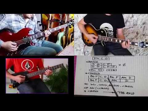 Pixies -Tenement Song- Guitar  Chords - Bass Tutorial