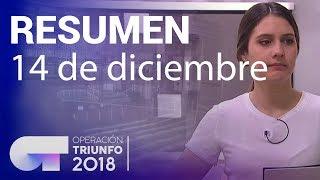 Resumen diario OT 2018   14 DICIEMBRE